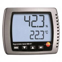 9875151 HIGROMETR + TERMOMETR TESTO 608-H1 10-98%RH +50 °C WILGOTNOŚIOMIERZ