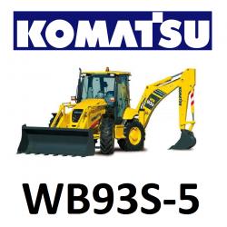 9551051 ZESTAW KLIMATYZACJI / KLIMATYZACJA DO KOPARKO - ŁADOWARKI KOMATSU WB93S-5