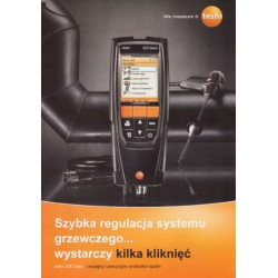 9875801 ANALIZATOR SPALIN TESTO 320 BASIC - ZESTAW BEZ DRUKARKI