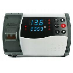 6900054 ELEKTRONICZNY REGULATOR TEMPERATURY STEROWNIK CHŁODNICZY ECB-1000Q NAŚCIENNY JAK DANFOSS AK-RC 101