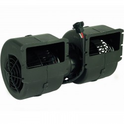 4009008 DMUCHAWA WENTYLATOR SPAL 009-A40-22 3 STOPNIE REGULACJI REZYSTOR RPA3VCV 12V 1020 M3/H