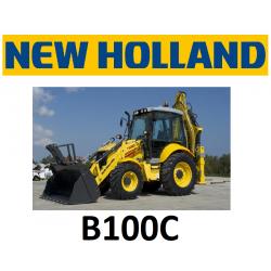 9551201 ZESTAW KLIMATYZACJI / KLIMATYZACJA DO KOPARKO-ŁADOWARKI NEW HOLLAND B100C B100CTC