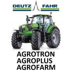 9502301 ZESTAW KLIMATYZACJI / KLIMATYZACJA DO CIĄGNIKA / TRAKTORA DEUTZ FAHR AGROTRON 410 AGROPLUS S70 S75 S90 S100 AGROFARM