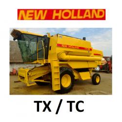 9501051 ZESTAW KLIMATYZACJI / KLIMATYZACJA DO KOMBAJNU NEW HOLLAND TX30 TX32 TX34 TX36 TC54 TC56 TC5040 TC5050 TC5060 TC5070