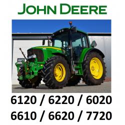 9502175 ZESTAW KLIMATYZACJI / KLIMATYZACJA DO CIĄGNIKA / TRAKTORA JOHN DEERE 6120 / 6220 / 6020 / 6610 / 6620 / 7720