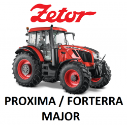 9502201 ZESTAW KLIMATYZACJI / KLIMATYZACJA DO CIĄGNIKA / TRAKTORA ZETOR PROXIMA / FORTERRA / MAJOR