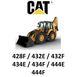 9551175 ZESTAW KLIMATYZACJI / KLIMATYZACJA DO KOPARKO - ŁADOWARKI CATERPILLAR CAT 428F 432E 432F 434E 434F 444E 444F