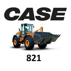 9557051 ZESTAW KLIMATYZACJI / KLIMATYZACJA DO ŁADOWARKI CASE 821B 821E 821F 821G