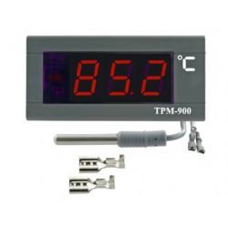 9875066 TERMOMETR ELEKTRONICZNY TABLICOWY PANELOWY ELITECH TPM-900 230V CZUJNIK 2M